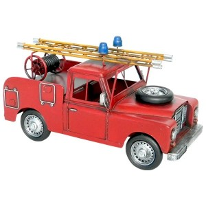 Land Rover Fire Engine Ornament