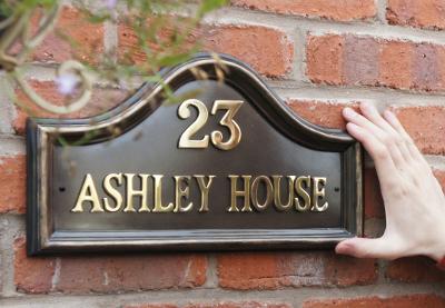 Stylish house name plates