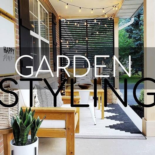 Garden Styling During Lockdown