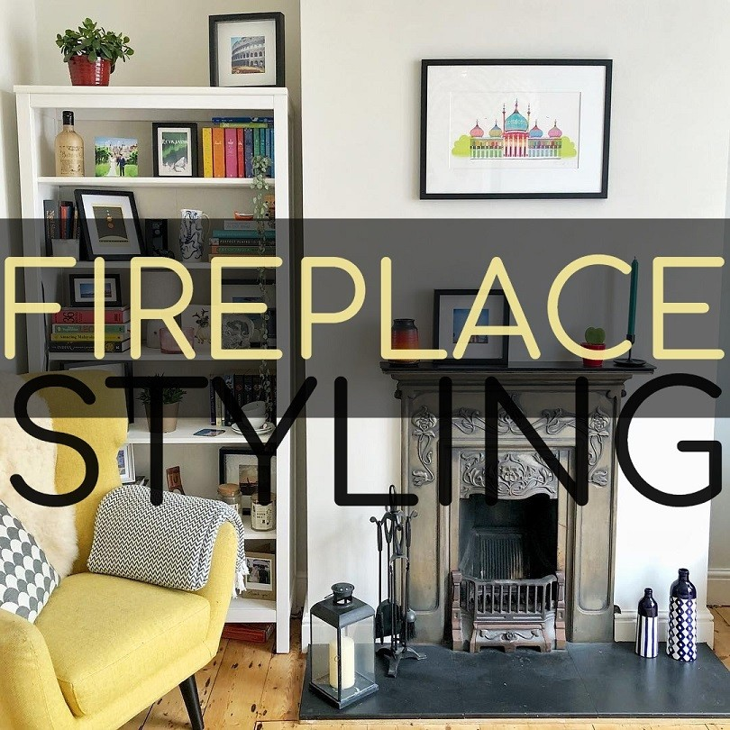 Fireplace & Mantle Styling Ideas