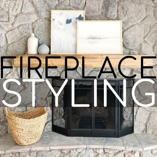 Modern Fireplace Styling 2020