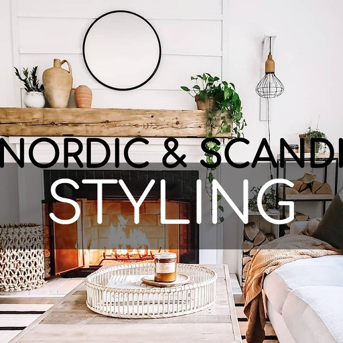 Nordic & Scandi Fireplace Styling