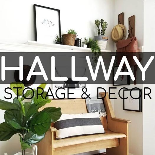 Hallway Decor & Storage Solutions