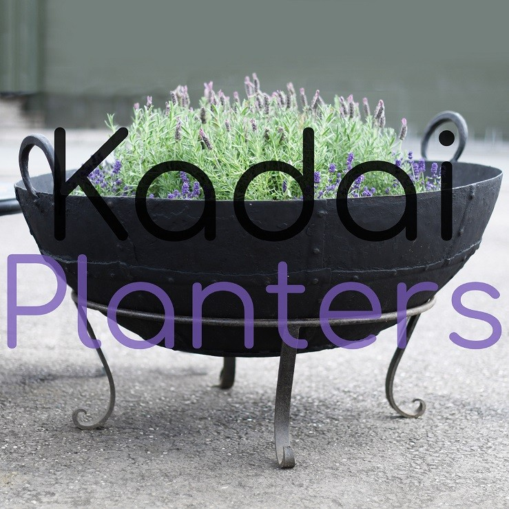 Kadai Firebowl Planters