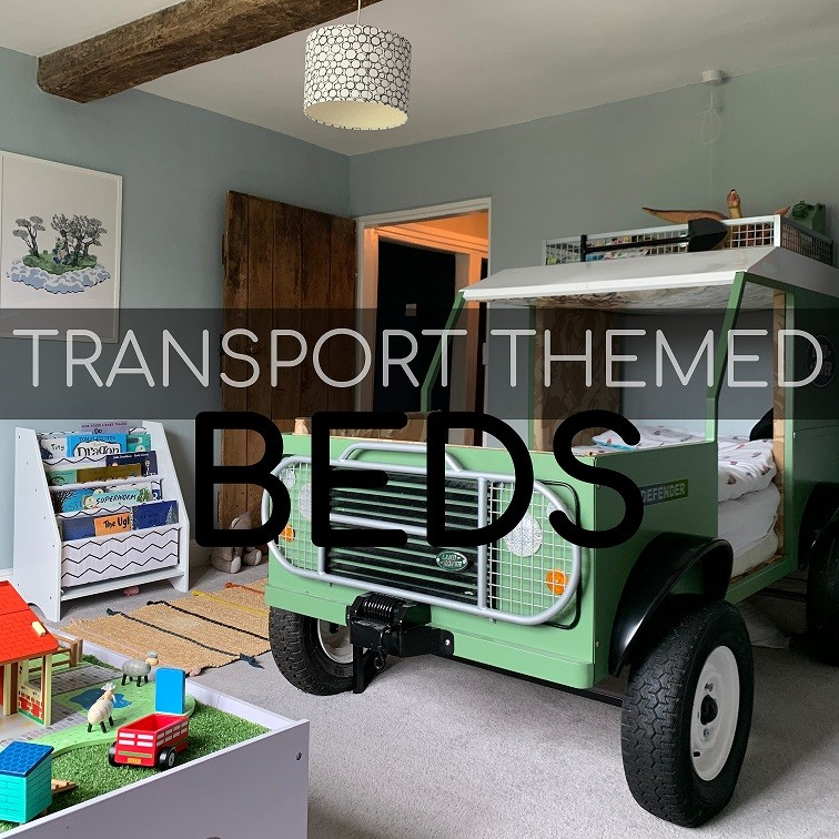 Transport Themed Beds: The Land Rover