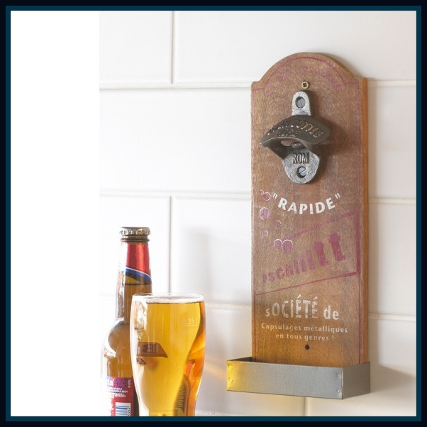 Wall Mounted Bottle Opener