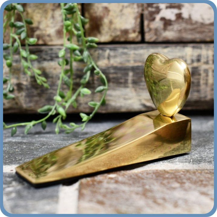 Heart Door Wedge