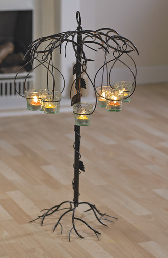 Iron Candle Stand Designs : Candle holders wall floor hanging designs black