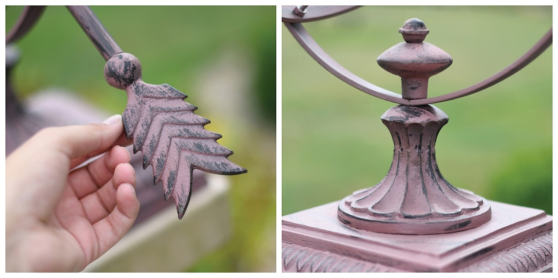 Hemispherian Armillary Details