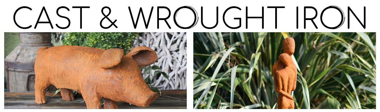Cast & Wrought Iron Garden Sculptures