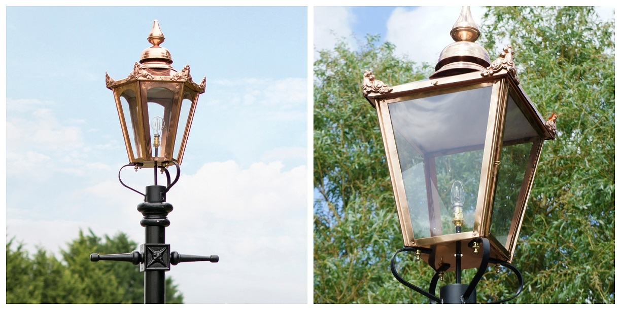 Copper Victorian Lanterns
