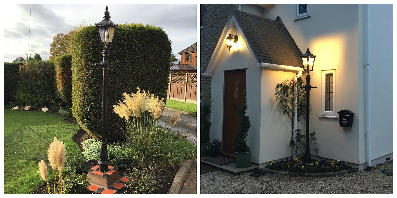 Lanterns & Lamp Post Customer Pictures