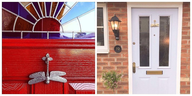 Dragonfly Door Knocker Customer Pictures