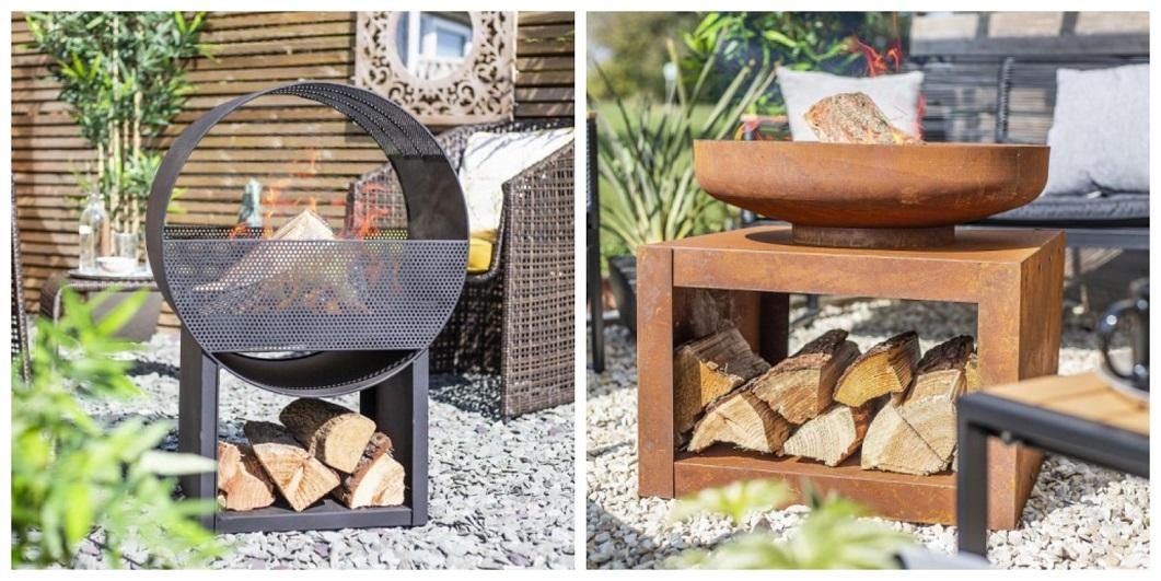 Outdoor Fire Pits & Wood Burners