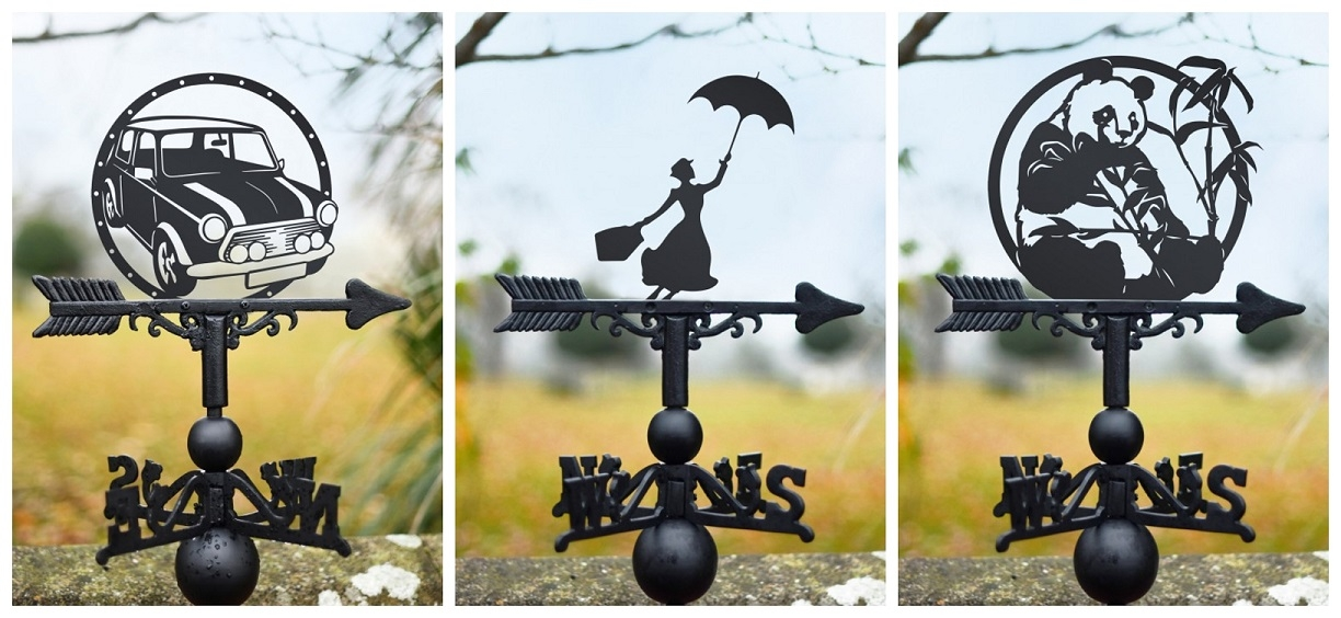 Modern Weathervane Designs