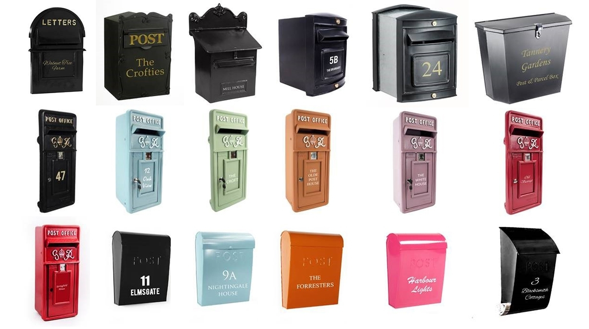 Personalised Post Boxes