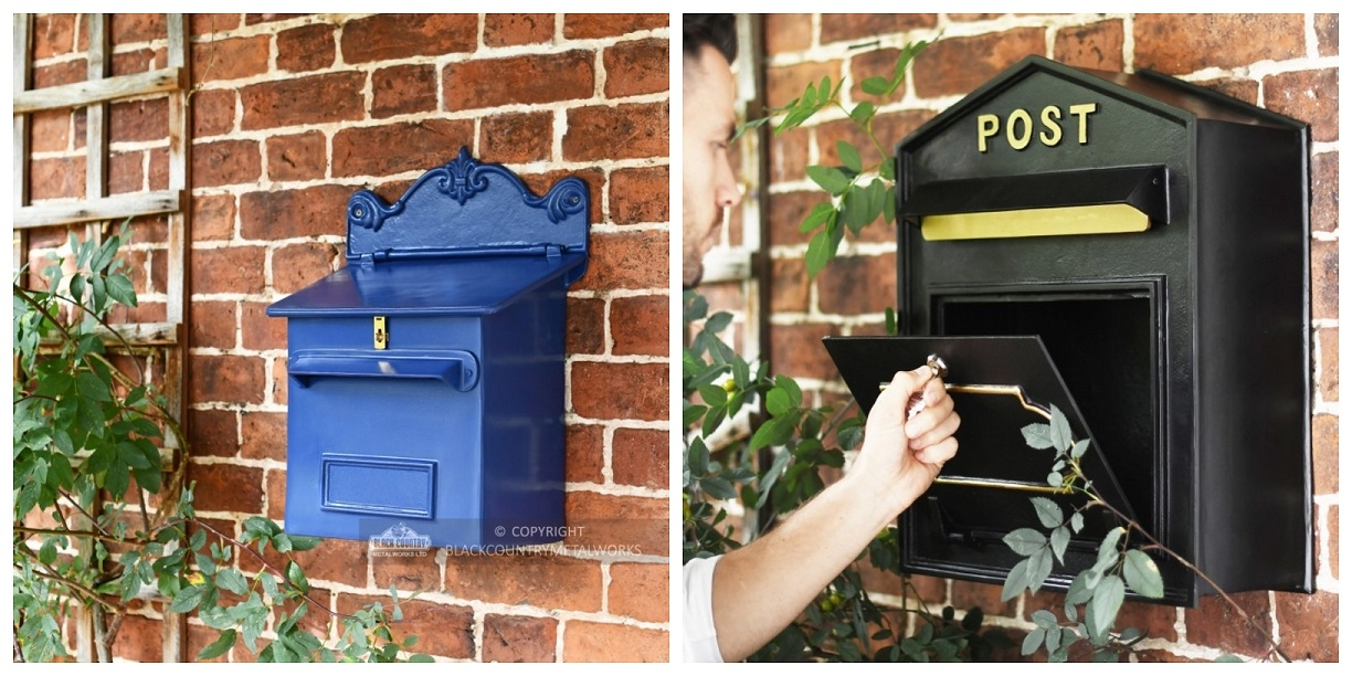 Wall-Mounted Post Boxes