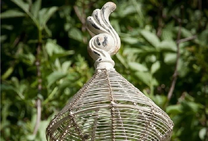 Rose Arch Basket Finial