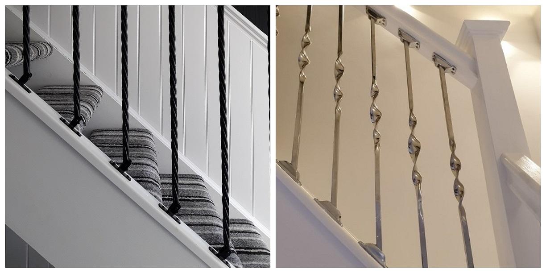 Stair Spindles in Situ