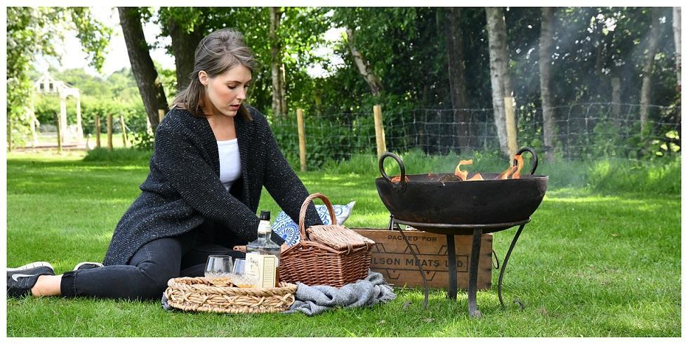 Outdoor Kadai Cooking