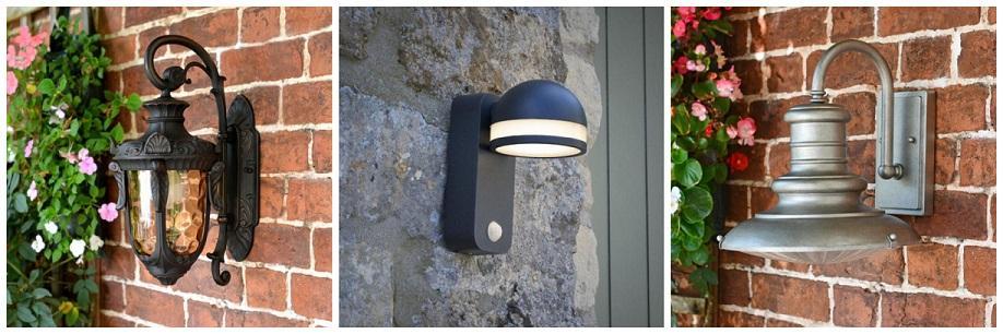 Modern, Traditional & PIR Sensor Wall Lanterns