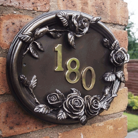 English Rose House Sign