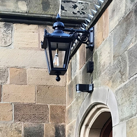 Hanging Victorian exterior wall light