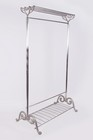 �Maplethorpe Manor� Deluxe Nickel Coat Stand