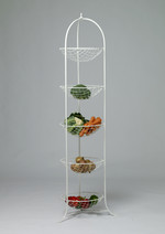 �Clementine Avenue� Wrought Iron Fruit and Vegetable Rack
