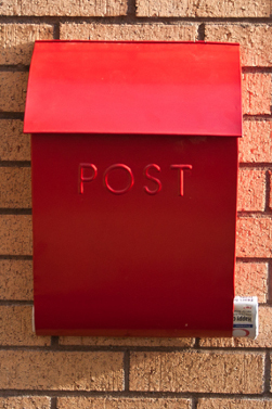 Berkley Hill Post Box Amp Newspaper Holder Wall Mounted