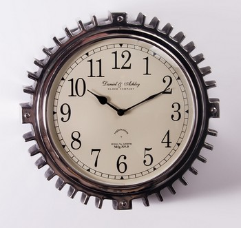 Cartwright Court Daniel Amp Ashley Motor Wall Clock