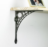 Cherub Iron Shelf Brackets