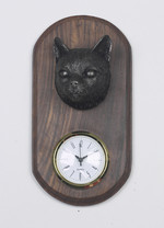 Tabby Cat Clock