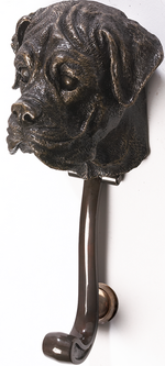 Boxer Dog Door Knocker