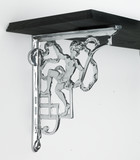 Chrome Shelf Brackets