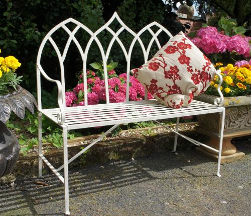 Royal Gothic Stunning Gothic Style Garden Bench Iron