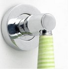 �Green Lagoon� Ceramic Pull Handle