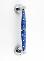 �Blue Regatta� Ceramic Pull Handle