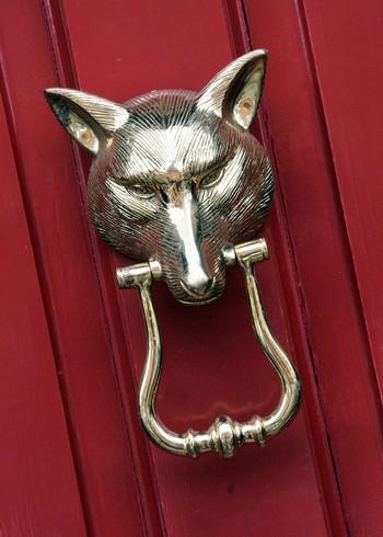 Fox head door knocker brass door knockers door knockers catalogue black country metal works - Fox head door knocker ...