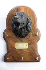 Setter Dog Key Holder