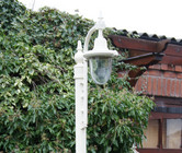 St Marlo Single lamppost Set.