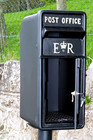 The Elizabeth Regina Post and Parcel Box