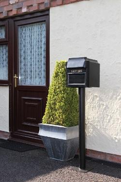 The Farringdon Post Box Amp Pedestal Free Standing Pillar