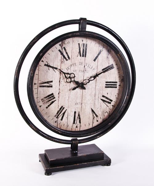 Hotel De Ville De Paris Free Standing Clock Mantel