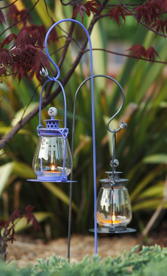 Garden Candle Wall Lights : Garden Candle Lights Black Country Metal Works