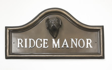 Great Dane House Name Plaque