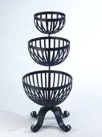 Bizzy Lizzy, Three Tier Free Standing basket Planter