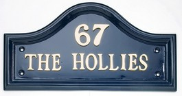 House Name - Blue Traditional Signs (16