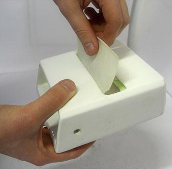 Jeyes Automatic Toilet Paper Holder Vintage Bathroom