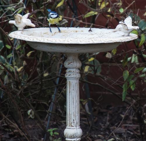 Quot Josette Quot Antique Cast Iron Bird Bath Bird Baths Amp Bird